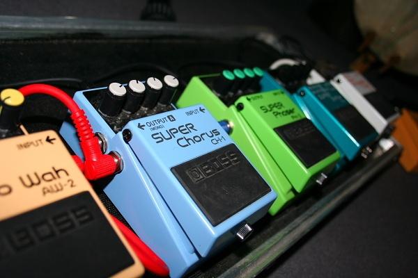 Guitar pedals by RokGeetar