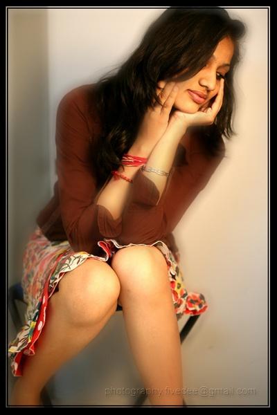 she is shy by ammatuerphotographer