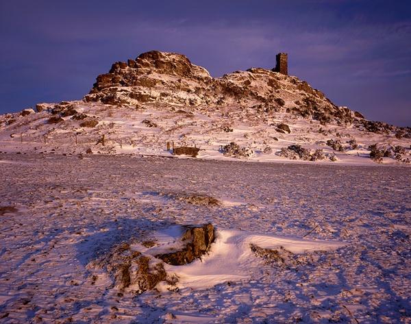 Brentor in snow by Richard_Downer