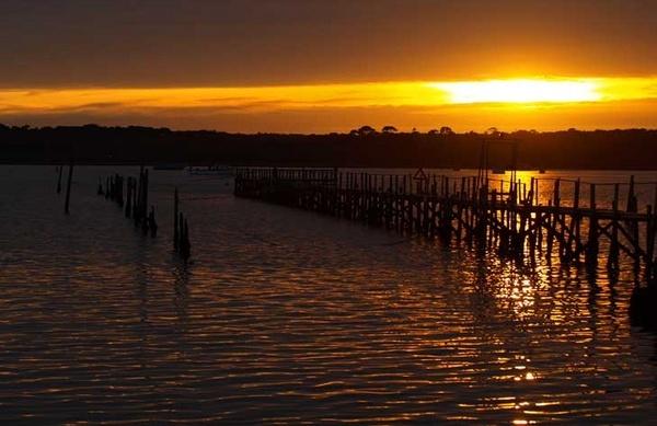 Sandbanks Sunset by Henners88