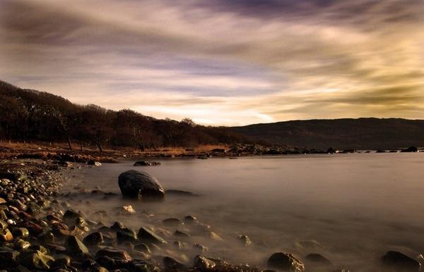 Loch at Ellary, Argyll by abesad