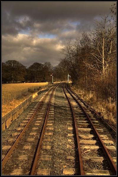 Bala Railway by Anthony