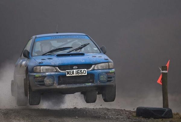 Subaru Flyer by mike sharples