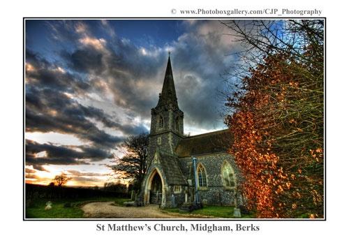 St Matthews - Midgham by Cristian