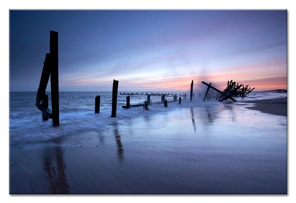 Happisburgh Dawn Splash by MrsS