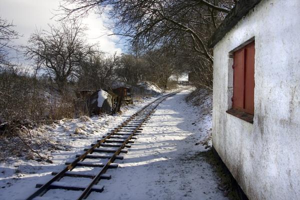 Tracks for peat by Monradus