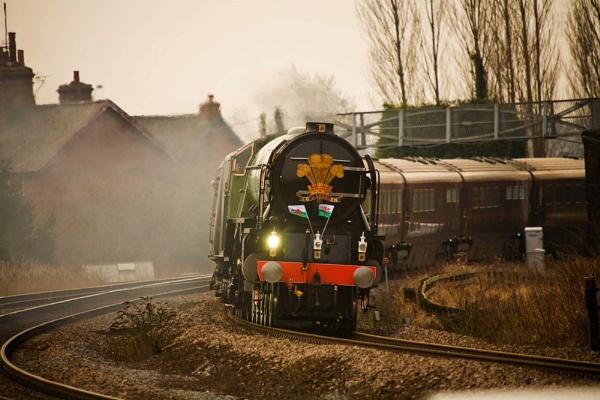 The Royal Train by Hailwood