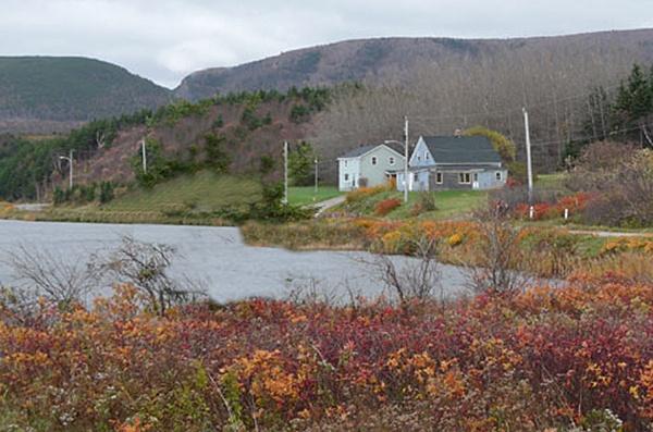 Lake in Nova Scotia by Valoir