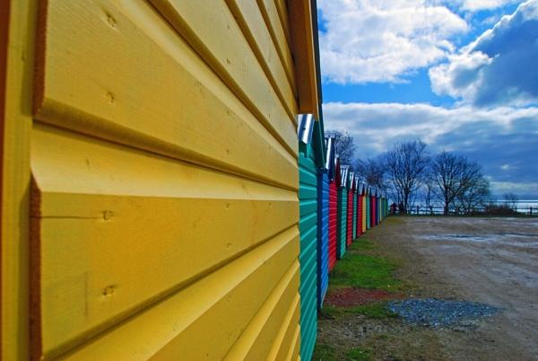 Beach Huts by anpix