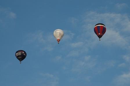 Three Ballons by sparkysteve