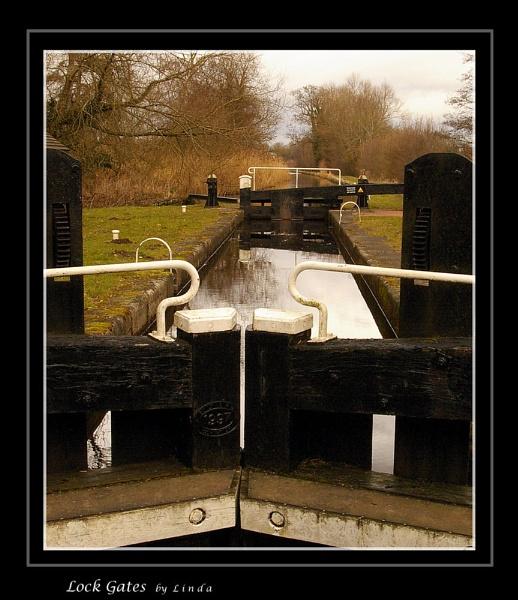 Lock Gates by Mynett