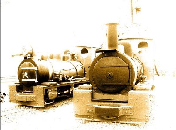 Antique Trains by Annien