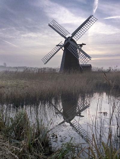 Herringfleet Windmill by Moying