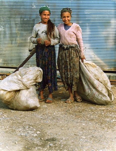 Peasant girls in Turkey by RobertRaw