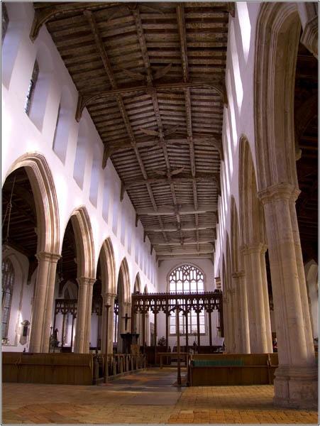 Blythburgh Church Interior by Philipo