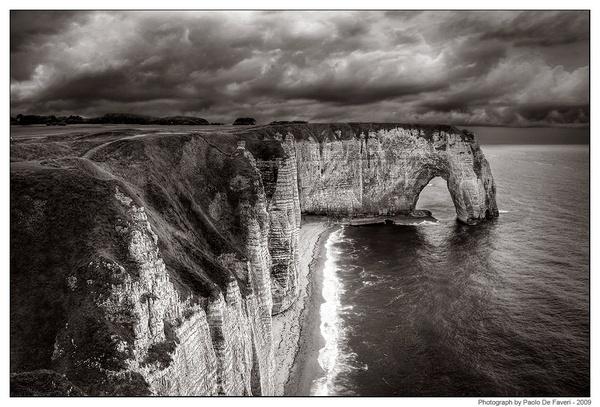 La Manneporte - Etretat, Normandy, France by paolodefaveri