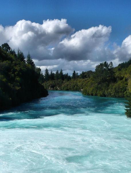 Huka Falls New Zealand by Nade