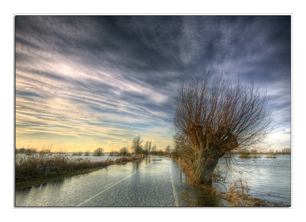 The Road To Welney by Stewy