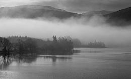 Misty Morning at Loch Rannoch