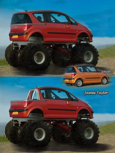 Custom Monster Truck by jamestaylor