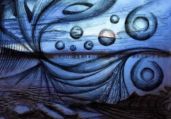 circles and swirls by Naidie