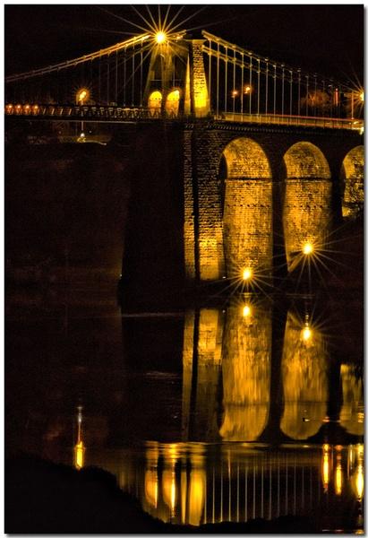 Menai Bridge Reflection by bmott001