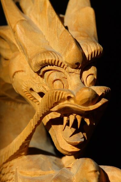 Sandalwood Dragon by RokGeetar