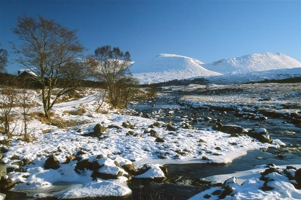 River Orchy Winter by Phinickphotos