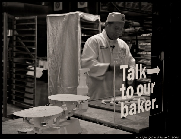 Talk to our baker. by DRicherby