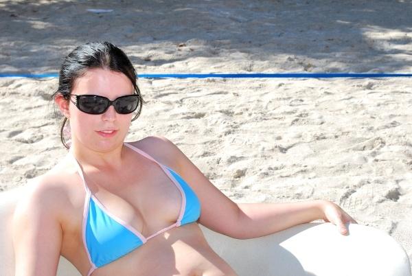 Beach Babe by jbowlerphotography