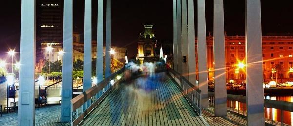 bridge to barcelona by Gubi