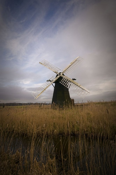 Herringfleet Mill by bulldozer