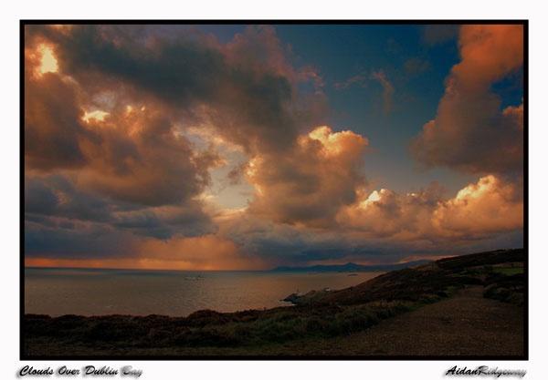 CloudsOverDublinBay by Ridgeway