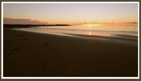 Sunset from Shell Island, Gwynedd by Bowline