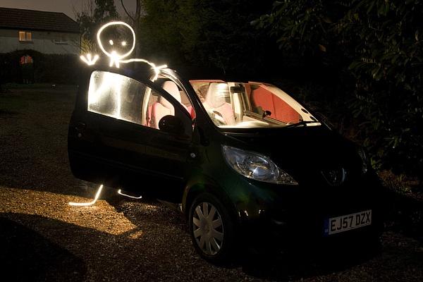 Alien Car Driver by duncanamps