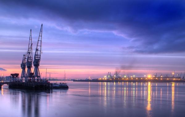 Northfleet Docks 2+ by derekhansen