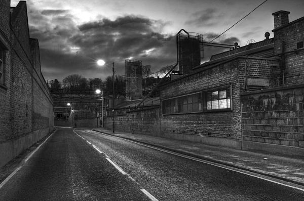 Crete Hall Road, Northfleet by derekhansen
