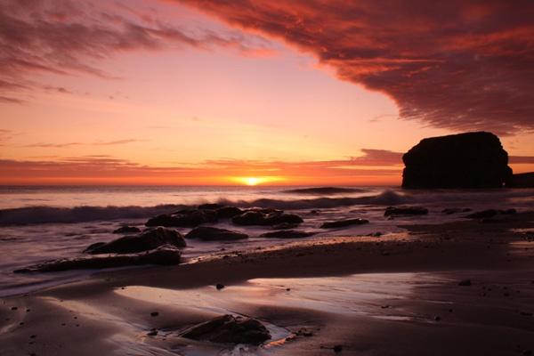 Marsden Sunrise by mpphotographics