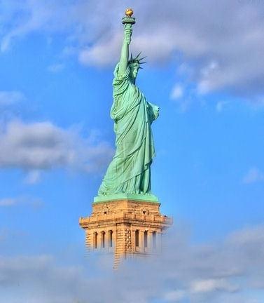 Statue of Liberty by sunilrouthu
