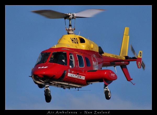 Air Ambulance - New Zealand by SteveNZ