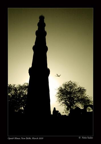 Qutub Minar, New Delhi. by nitinhopeindia