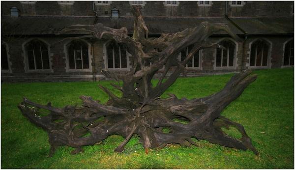 falling tree ghost by frink