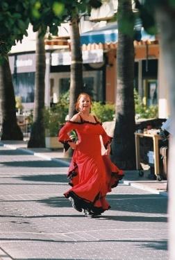 Street Flamenco Dancer in Marbella, Spain by RobertRaw