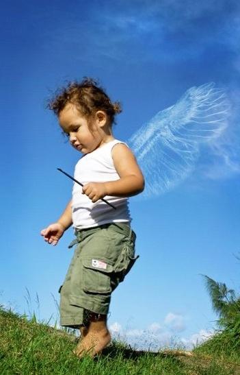 Mama\'s Lil Angel by KatrienaEmmanuel