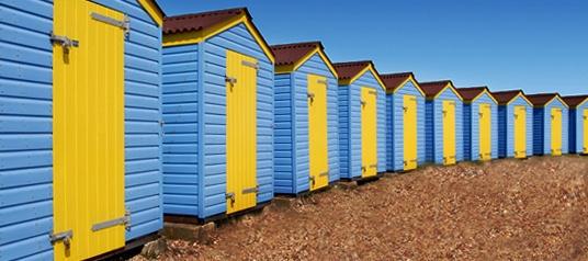 Beach Huts by PhotoG76
