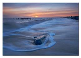 Sand, Sea  - - - -