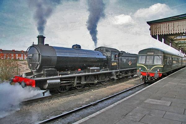 Steam Versus Diesel by PostmanPask