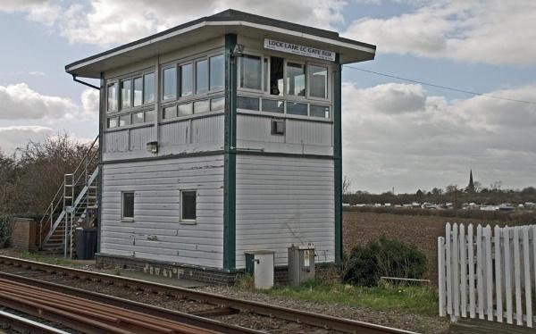 Lock Lane Signal Box by spikemoz