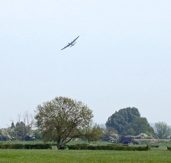 BBMF Lancaster by spikemoz