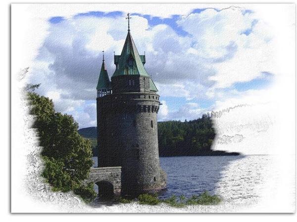 Lake Vrnwy 2 by stevieasp